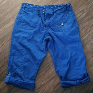Other - Royal Blue cargo capris